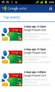 Google Wallet/Prepaid Card
