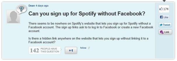 Spotify Adds Facebook Requirement, Angering Users