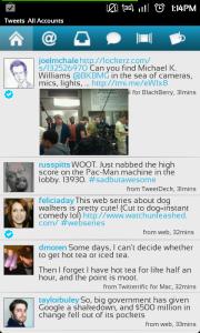 Twidroyd Legacy Android app