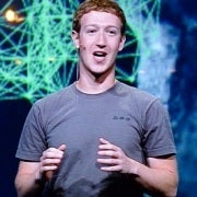 Facebook CEO Mark Zuckerberg announcing Timeline