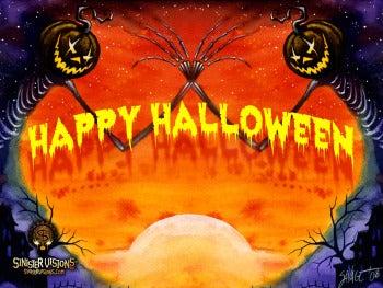 Autumn Harbinger Desktop Wallpaper