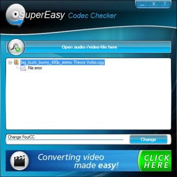SuperEasy Codec Checker