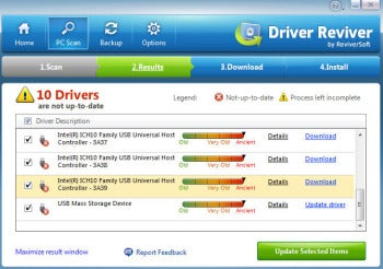 Driver Reviver screenshot