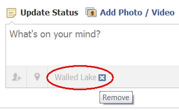 how to change my current location on facebook
