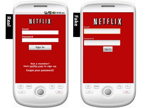 Fake Netflix App Poses Data-Stealing Risk