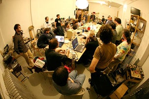 Meeting of the NYCResistors, 2011