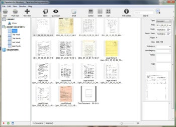 Paperless for Windows 2.0 screenshot