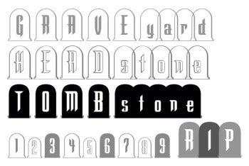 Graveyard Font Collection screenshot