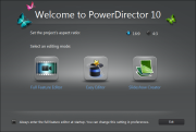 CyberLink PowerDirector version 10