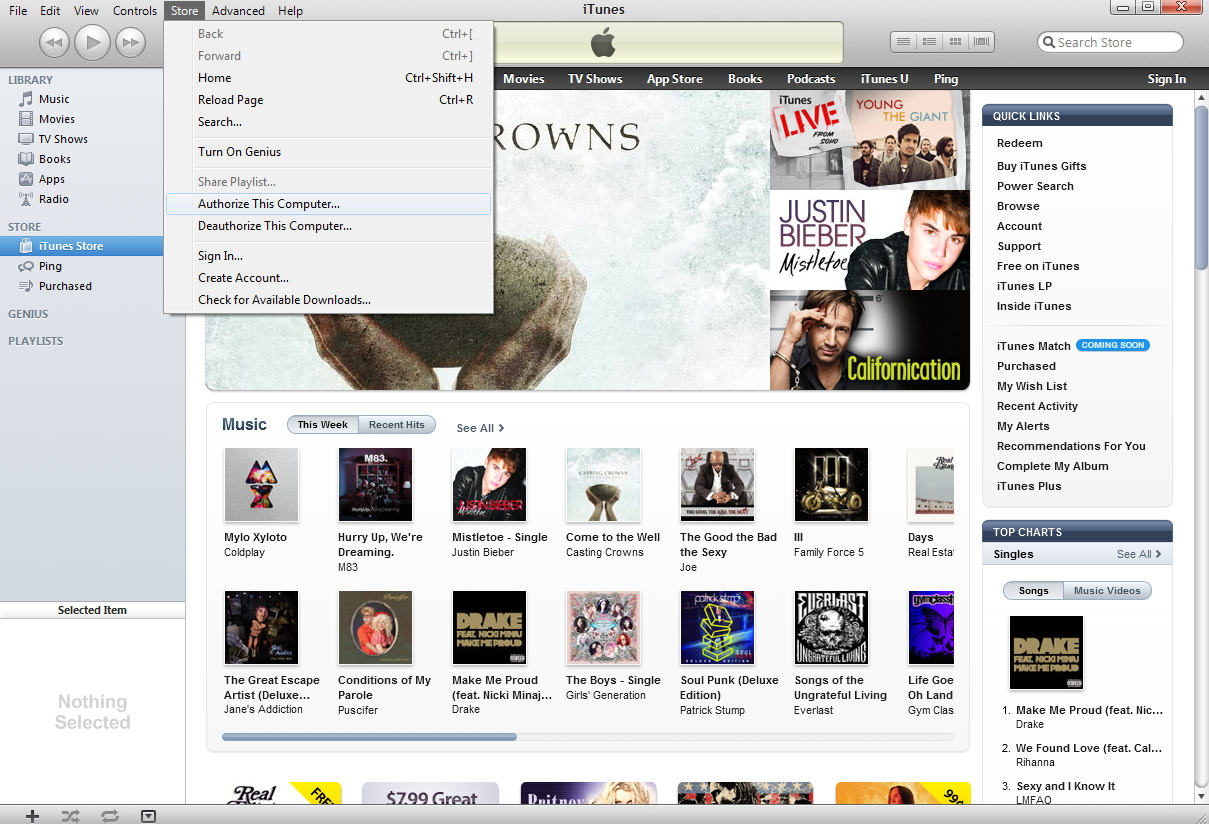 How to Authorize or Deauthorize iTunes | PCWorld