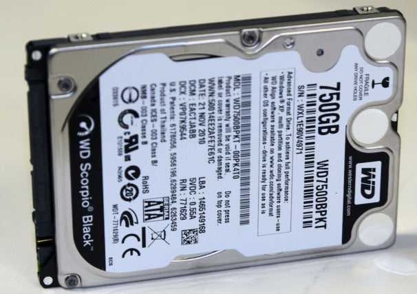 Western Digital's 750GB drive should have adequate performance and more than adequate capacity.