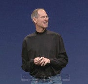 Steve Jobs at Apple's Worldwide Developers Conference in 2008.