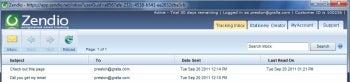 Zendio Outlook add-in screenshot