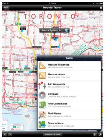 Avenza's PDF Maps