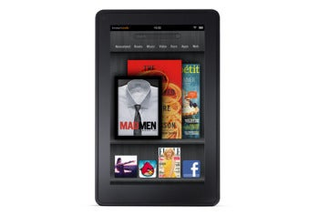 Amazon Kindle Fire e-reader and tablet