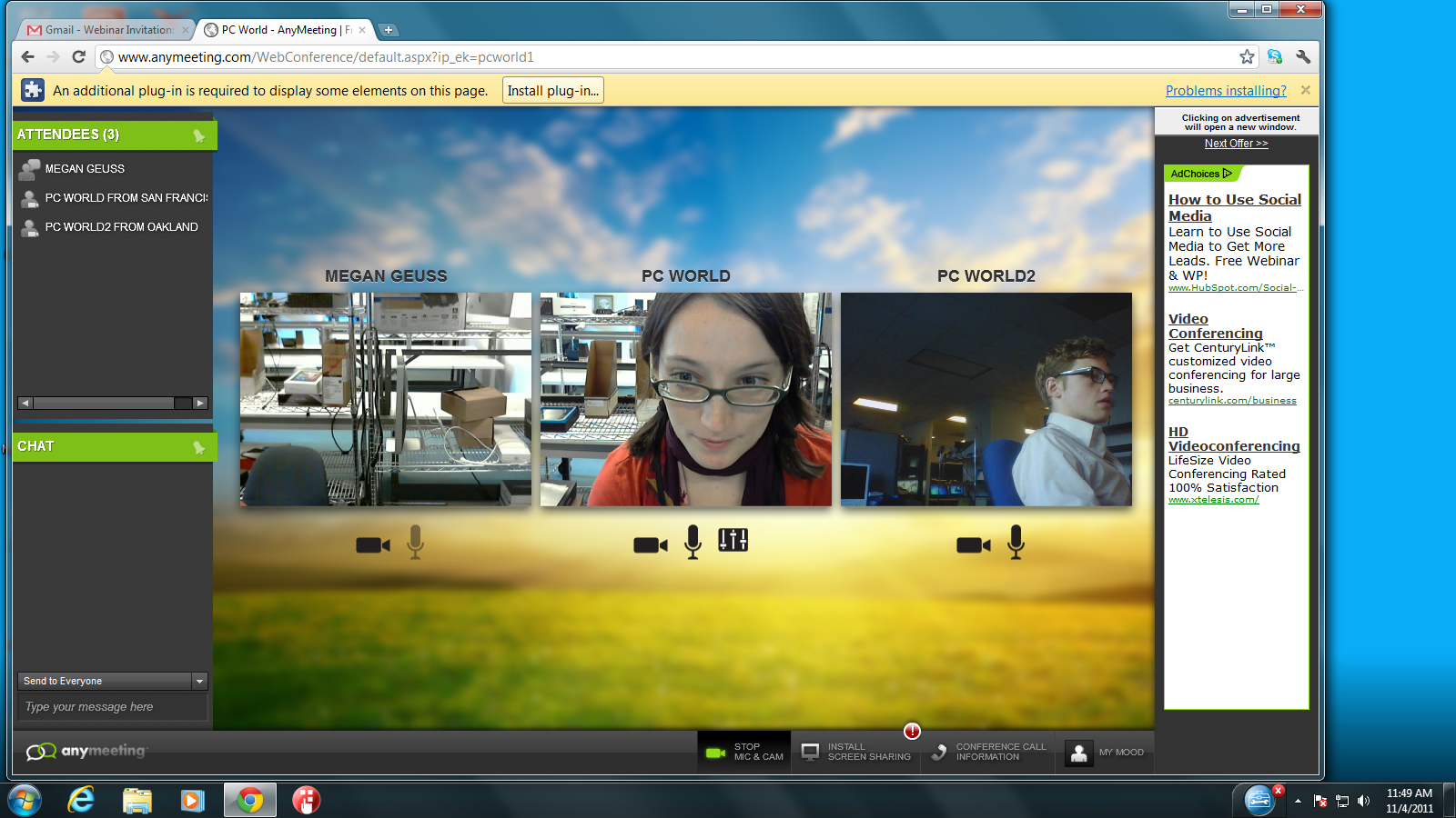 AnyMeeting Now Makes Online Meetings Free and Simple PCWorld