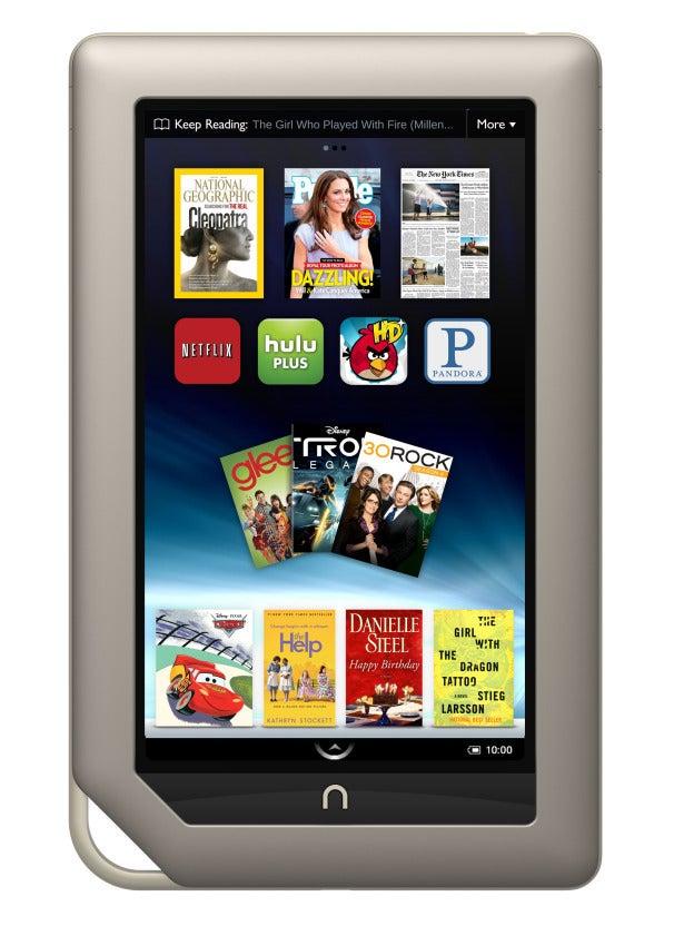 kindle fire  nook tablet battle for app supremacy