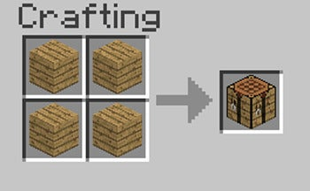 Getting started with minecraft pcworld - Minecraft crafting table recipes list ...