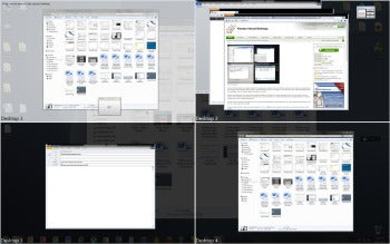 Finestra Virtual Desktops screenshot