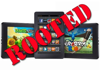 Kindle fire gets rooted