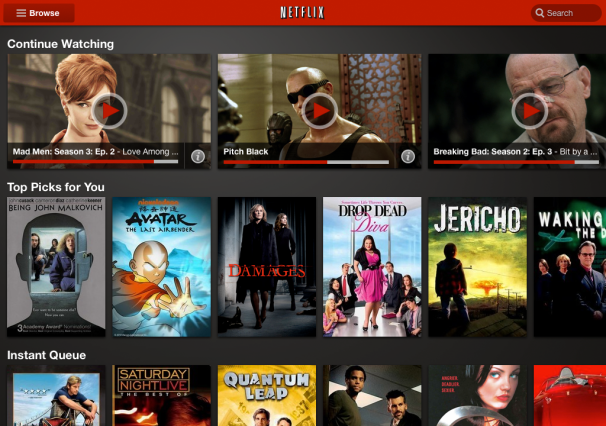 Netflix Goes Android-First with Tablet App Redesign