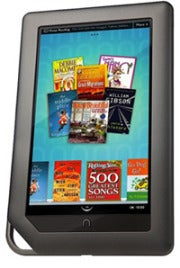 The Nook Tablet will look almost identical to the Nook Color, but with better specs.
