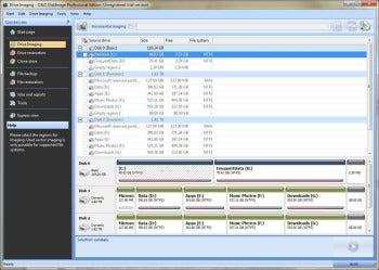 O&O DiskImage 6 Professional Edition screenshot
