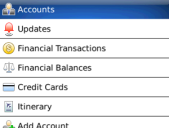 PageOnce Money and Bills for BlackBerry
