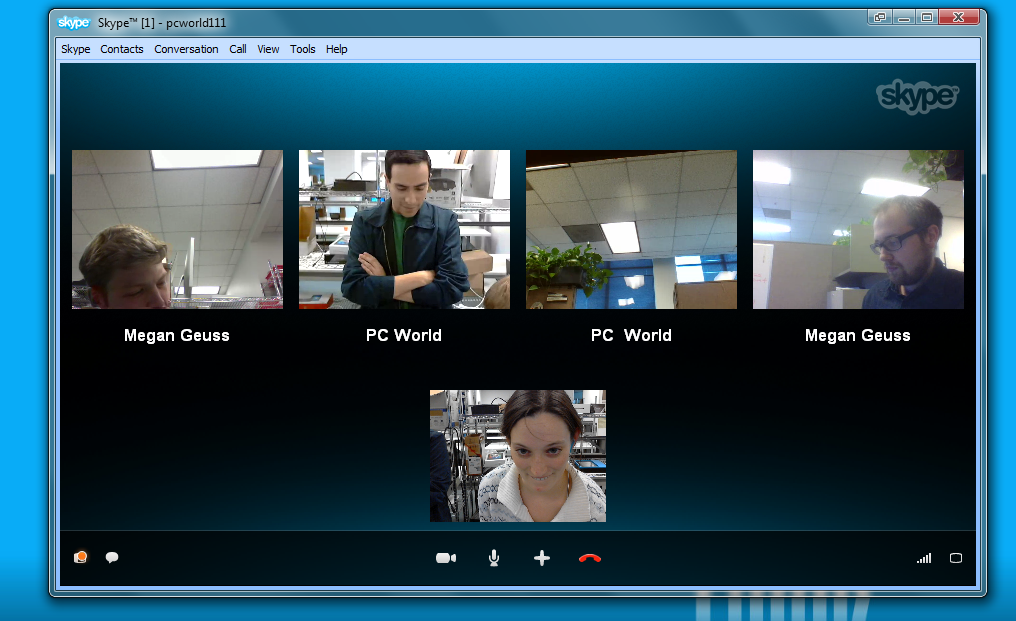 skype how to group video call