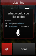 Android virtual assistant apps: Vlingo