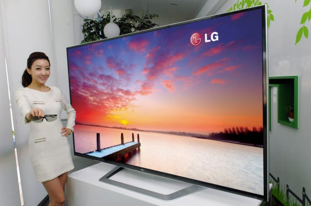 LG to Showcase 84-Inch 3D HDTV at 2012 CES