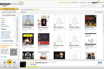 Amazon Cloud Music Player