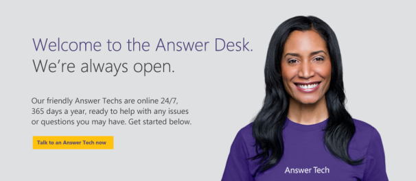 Microsoft Help Desk Phone Number