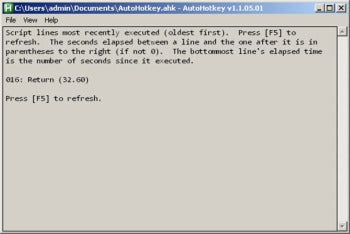 Automation Program AutoHotkey Works Well, But Takes Knowhow