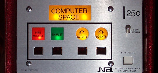 computer space controls