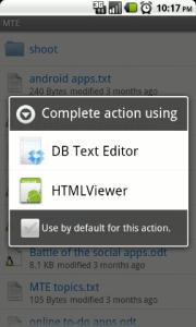 Dropbox Text Editor