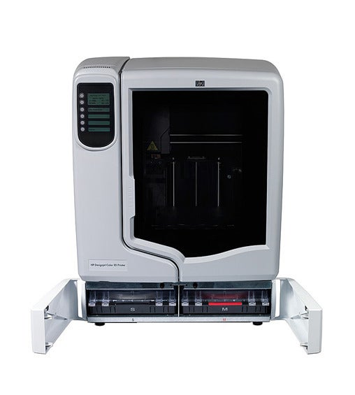 Hewlett-Packard's DesignJet 3D printer is available only in Europe.