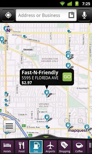 MapQuest for Android