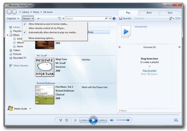 How to Stream Digital Media From Your Windows 7 PC