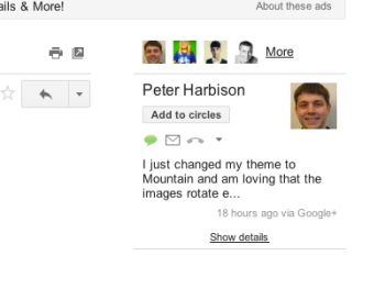 Google's Integration of Google+ into Gmail is Right Touch ...