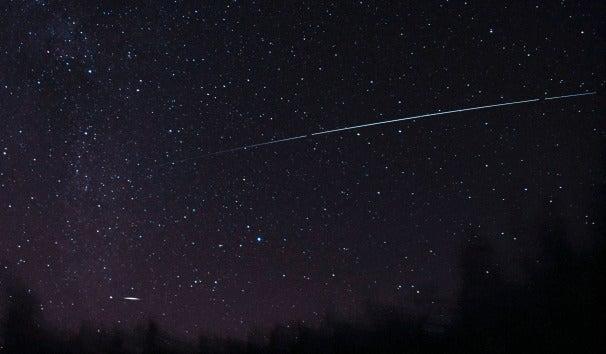SolarSail-D soars across the sky, Credit: Vesa Vauhkonen, Rautalampi, Finland