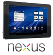 The reference Nexus tablet shown at CES 2012