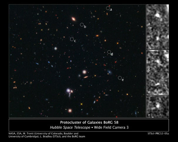 galaxies hubble telescope discovers-#11