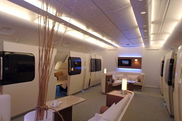 Holy Smokes, This First Class Cabin Looks Just Like the ...