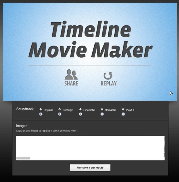 Facebook's Timeline Movie Maker Turns Users' Lives into Film