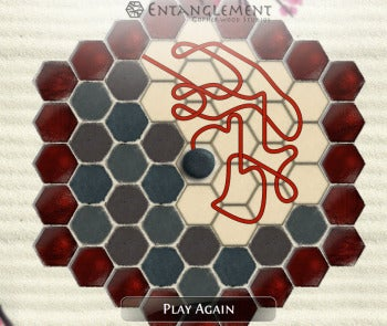 Entanglement browser-based game screenshot
