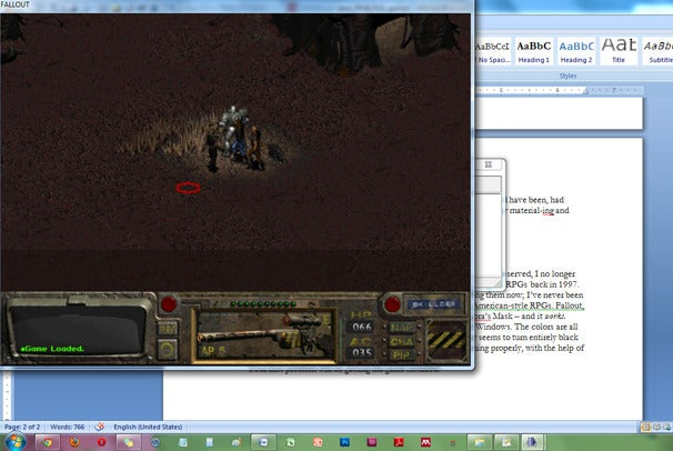 how to run games in windowed mode windows 7
