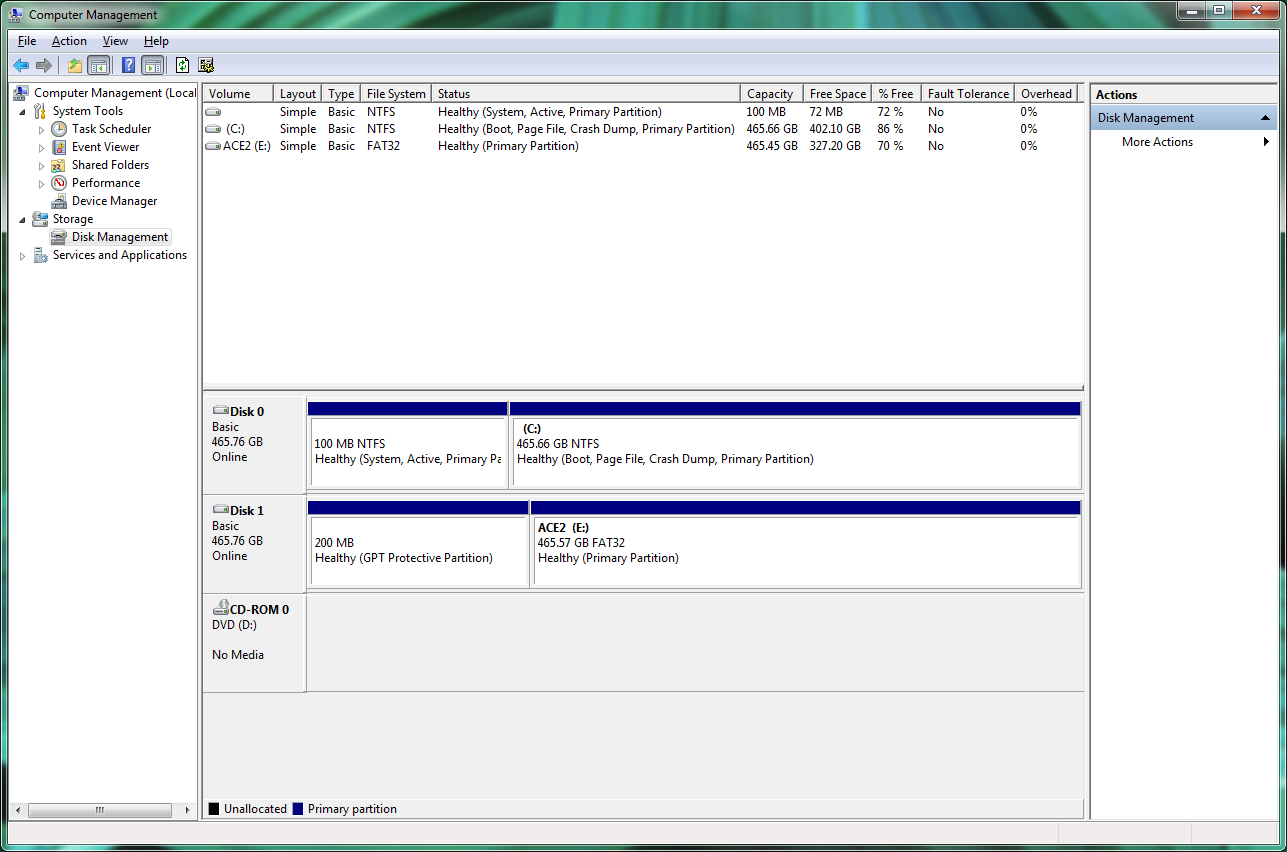 You Can Repartition And Format Your Hard Drives In Windows Using The Disk  Management Tool