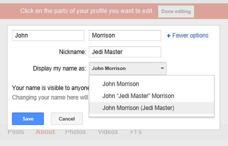 google says yes to nicknames but no to anonymity pcworld