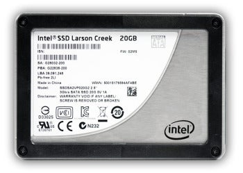 Intel Smart Response Technology can be configured to consume up to 64GB of space on an SSD. Smaller SSDs will work fine though (we tested